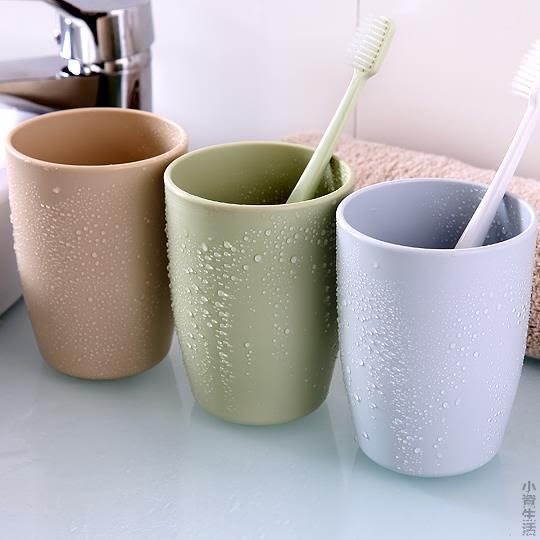 塑料漱口杯刷牙杯兒童牙缸杯 創意日式情侶刷牙杯子牙刷杯JRM-1297