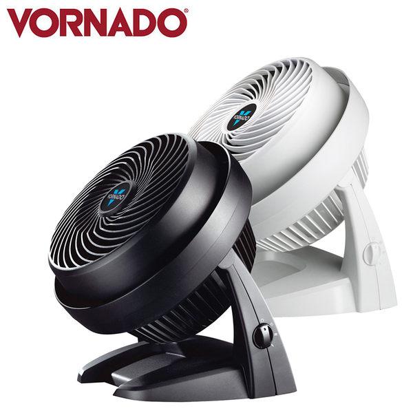 【美國 VORNADO】《送飛利浦7W LED燈泡黃光+白光各1》渦流空氣循環機 黑/白色 630B/630W