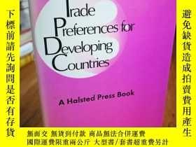 二手書博民逛書店Trade罕見preferences for developin