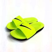 大童 NIKE KAWA SLIDE (GS/PS) 輕量運動拖鞋《7+1童鞋》D890黃色