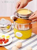 聖誕禮物家用雙層蒸蛋器煮蛋器自動斷電1人2小型早餐機多功能雞蛋神器LX