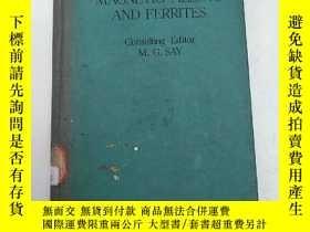 二手書博民逛書店magnetic罕見alloys and ferrites(H3