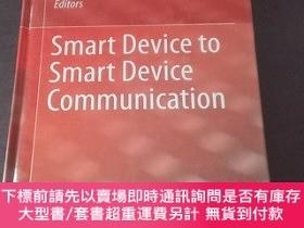 二手書博民逛書店Smart罕見Device to Smart Device Communication(2014 Edition,