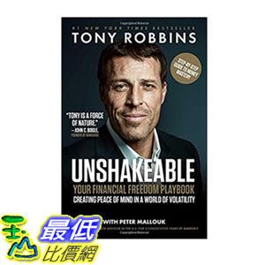 [106美國直購] 2017美國暢銷書 Unshakeable:Your Financial Freedom Playbook