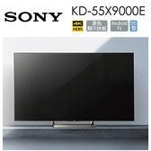 專櫃檯面展示品 狀況佳↥ SONY 55吋 KD-55X9000E 4K HDR 高畫質 直下式 LED 背光 含桌上基本安裝