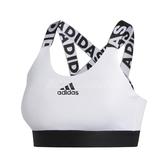 adidas 運動內衣 Dont Rest Branded Bra 白 黑 女款 Apink 孫娜恩款 中度支撐 【PUMP306】 FJ6085
