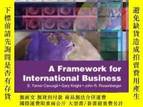 二手書博民逛書店A罕見Framework Of International Business-國際商務框架Y436638 S.