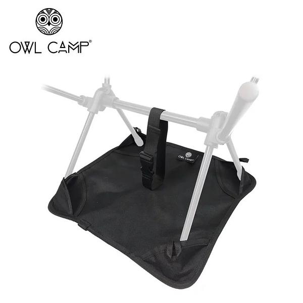 丹大戶外【OWL CAMP】黑色標準沙灘地墊 BPM-001 防水│椅腳墊│墊子