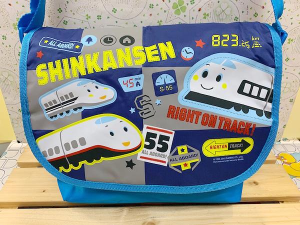 【震撼精品百貨】Shin Kan Sen 新幹線~幼童用斜背包-綜合人物#90353