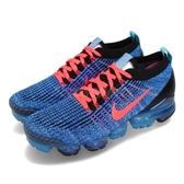 Nike Air VaporMax Flyknit 3 藍 紅 三代 飛線編織 大氣墊 運動鞋 男鞋【PUMP306】 AJ6900-401