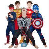 萬聖節男童卡通英雄造型服裝