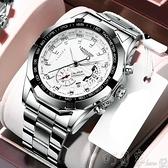 手錶 防水夜光全自動男士手錶男學生韓版潮流時尚非機械錶 町目家