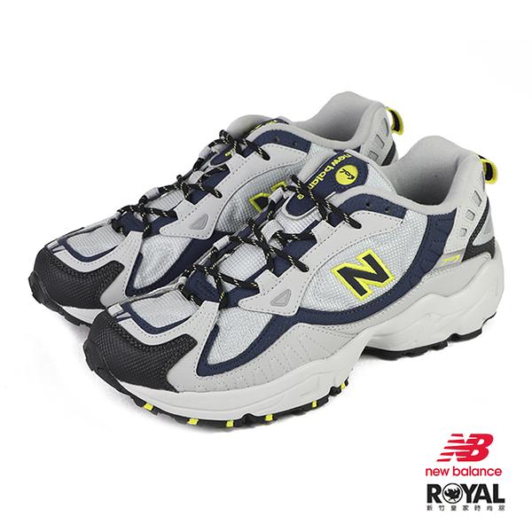 New balance 703 灰色 網布 運動休閒鞋 男款 NO.B1331【新竹皇家 ML703BBD】
