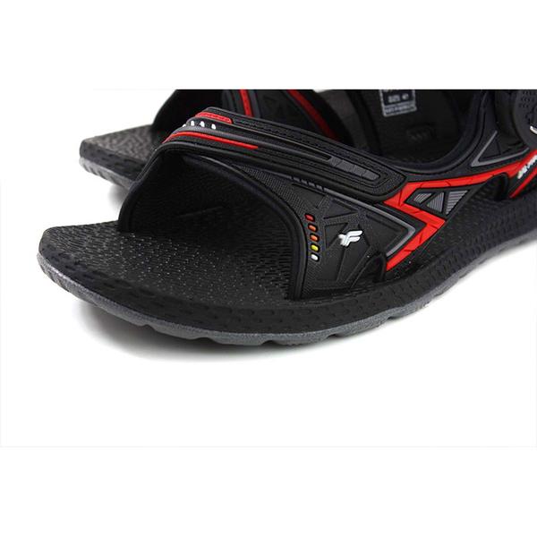G.P (GOLD PIGEON) 阿亮代言 涼鞋 雨天 黑/紅 男鞋 G0790M-14 no236