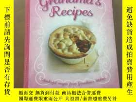 二手書博民逛書店Grandma s罕見Recipes by Bonnier Bo