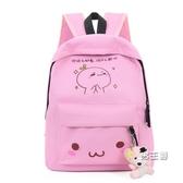正韓兒童書包後背包書包小學生男生女兒童旅行背包後背包補習包袋 快速出貨
