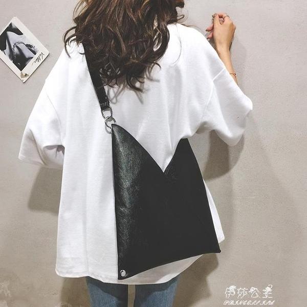 韓版大包包女包新款純色簡約托特包休閒大容量通勤單肩斜背包【快速出貨】