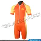 兒童款Lycra短袖短褲連身防曬水母衣-多色(售完不補) DS-L11-1C-Lycra 【AROPEC】