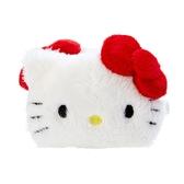 Hello Kitty髮夾 造型絨毛鯊魚夾/絨毛髮夾 /髮飾/配件 [喜愛屋]