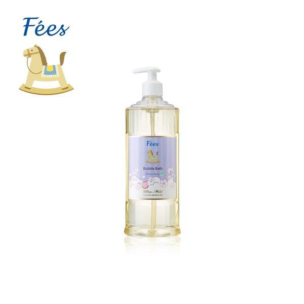 【Fees法緻】嬰兒柔護泡泡露-白麝香600ml / 洗髮沐浴 泡泡浴 泡澡
