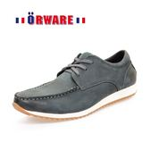 ORWARE-真皮運動休閒鞋 622067-07(藍)