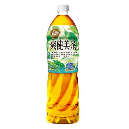 可口可樂爽健美茶1250ml*12入/箱【愛買】