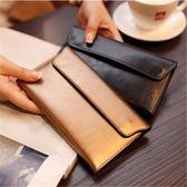 長夾 長款錢包女新品新款簡約歐美超薄卡位錢夾多功能皮夾女士錢夾   任選一件享八折