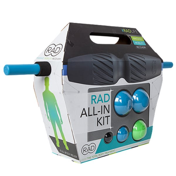 台同健康活力館 RAD All In Kit全系列套組 (HELIX+ROD+BLOCK+ROUNDS+ROLLER)SMR自我筋膜放鬆