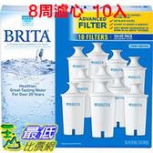 [新款8周用濾心] Brita 圓形濾心10 入,相容舊款圓形濾心水壺