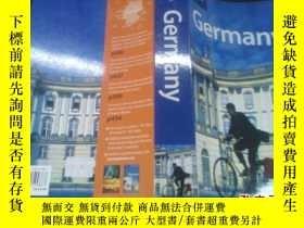 二手書博民逛書店Lonely罕見Planet Germany 英文原版 孤獨星球