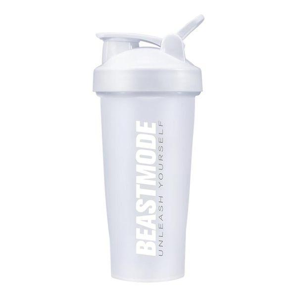 Beast Mode 健身杯子搖搖杯刻度男女奶昔杯運動水杯便攜蛋白粉杯