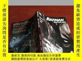 二手書博民逛書店BATMAN罕見FACE THE FACEY177301 BAT