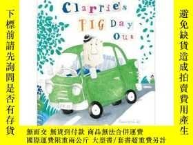 二手書博民逛書店Clarrie s罕見Pig Day Out 插畫繪本故事 - 克萊爾漫長的一天Y431958 Jen Sto