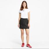 PUMA 短裙 CLASSICS 黑 工裝 滑面 雙口袋 流行系列 女 (布魯克林) 53022601