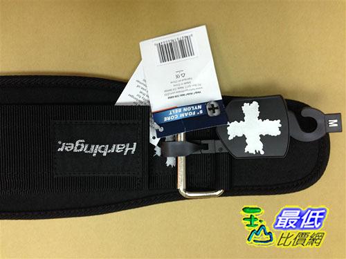 [104美國直購] Harbinger 233 黑色 5  Firm Fit Foam Core 3 Strap Belt 健身腰帶 深蹲腰帶 舉重 重訓