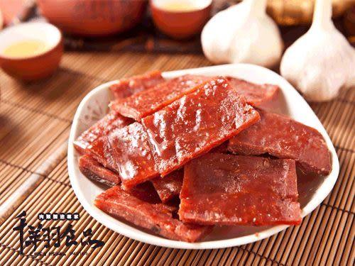 [千翔肉乾] 蒜香豬肉乾 (95g)/精緻包