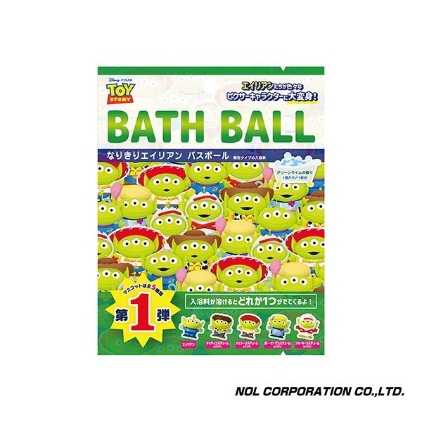 日本NOL 三眼怪大變身 入浴球/沐浴球 (泡澡用品 洗澡玩具 沐浴精 入浴劑)