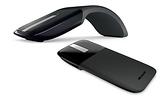 微軟 Arc Touch 滑鼠 - 黑 盒裝 完美且獲獎肯定的便攜觸控技術