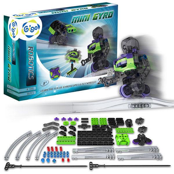 陀螺儀飛輪機器人 #7395-CN 智高積木 GIGO 科學玩具 (購潮8)