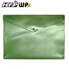 【HFPWP】冷色綠 鈕扣橫式文件袋公文袋 A4 板厚0.18mm台灣製 GF230-CGN