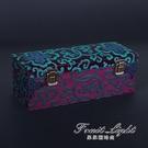 首飾盒 手鐲盒收納箱翡翠玉鐲盒珠寶首飾收納盒高品質錦盒定做木質10只裝 果果輕時尚