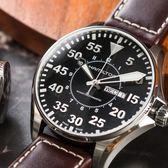 HAMILTON 漢米爾頓 KHAKI 飛行機械真皮腕錶/46mm H64715535 熱賣中!