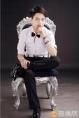男士手鍊男韓版潮人青少年學生簡約個性百搭休閒手飾手鍊女韓版繩 歐亞時尚