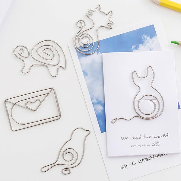 【BlueCat】閱讀全世界金屬動物造型迴紋針書籤