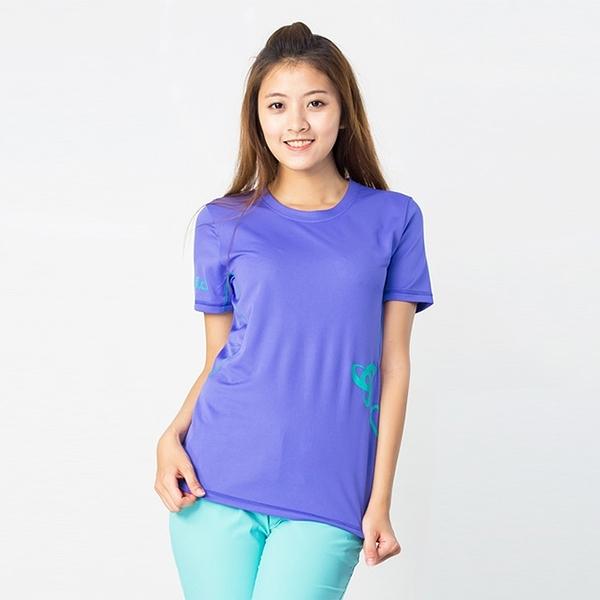Odlo 圓領短袖T恤 女 藍紫 391431
