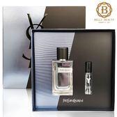 YSL Y 男性淡香水禮盒(淡香水100ml+淡香水10ml)《Belle倍莉小舖》41445 Yves Saint Laurent