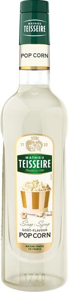Teisseire 糖漿果露-爆米花風味 Pop Corn Syrup 法國頂級天然糖漿 700ml