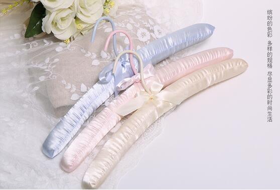 9支裝顏色混搭無痕海綿家用婚紗衣架LY647『愛尚生活館』