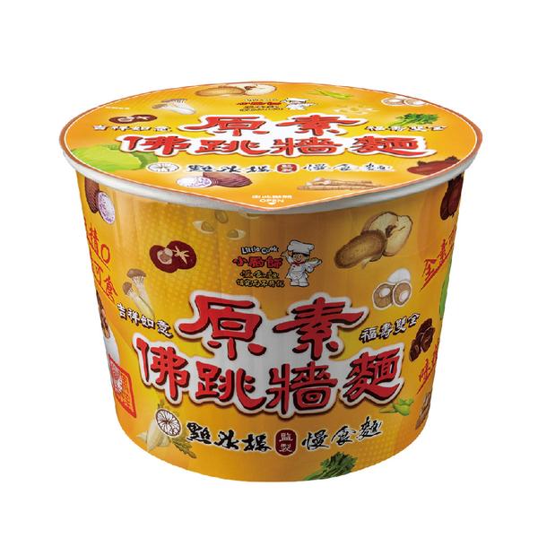 買就送6桶白果【小廚師慢食麵】原素佛跳牆麵 (340g*6桶/箱)