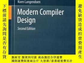 二手書博民逛書店Modern罕見Compiler Design-現代編譯程序設計Y436638 Dick Grune; Kee